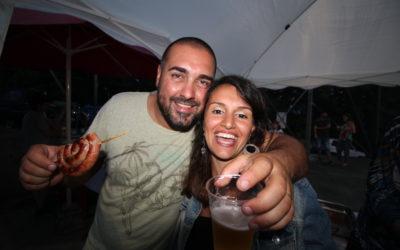 La serata salsiccia e birra 2017 a Villa Viani: apriamo l'estate !!!